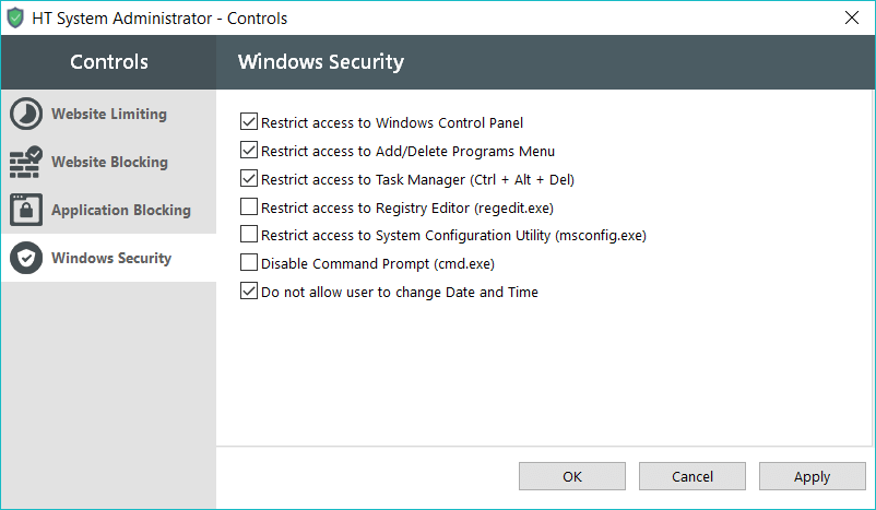Windows Security - HT Sys Admin