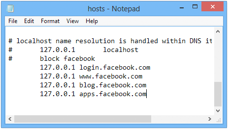 How to Block Facebook - 3 Methods for All Windows Versions